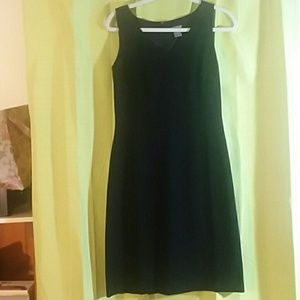 Black dress, Ann Taylor, fully lined. Size 4
